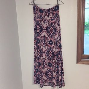 LuLaRoe~ patterned maxi skirt